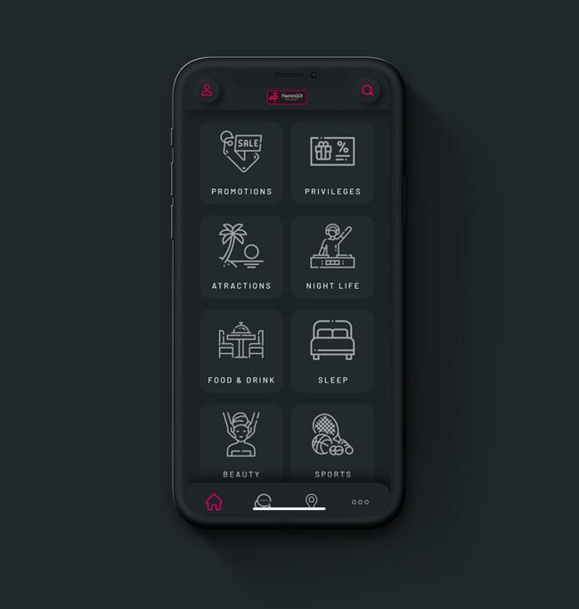 Flamingo The Phuket App App Home Screan