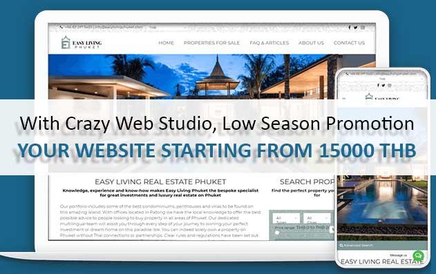 Flamingo Low Season Promotion Crazy Web Studio Website1